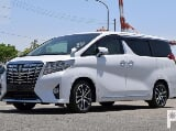 Photo Toyota Alphard 2015 White Van