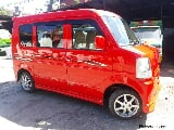 Photo Suzuki Square eye Transformer Van 4x2 AT, Red
