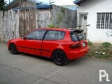 Photo 1995 civic hatchback ferrari red color? Pagsanjan