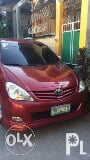 Photo 2009 model TOYOTA innova E