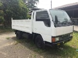 Photo Mitsubishi Fuso Canter Mini Dump Dumping High...