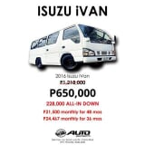 Photo Isuzu iVAN Manual