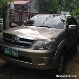 Photo Toyota Fortuner Eco Plus Automatic 2006