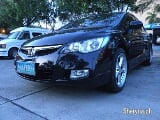 Photo 2007 Honda Civic Manual Black Sedan