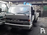 Photo Isuzu elf 4be1 2.5t boom truck, 12ft drop side...