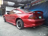 Photo 1997 Ford Mustang Auto Red Sports car