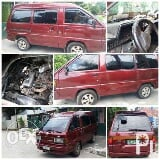 Photo Toyota Van Lite Ace 1993 Maroon color K5 Engine...