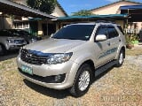 Photo 2012 Toyota fortuner G D4D