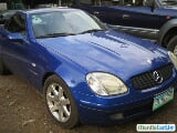 Photo Mercedes Benz SLK-Class Automatic 1998