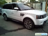 Photo Land Rover Range Rover Sport Automatic 2016