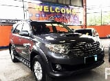 Photo Toyota fortuner 2012 v at