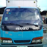 Photo Isuzu ELF Aluminum Van Manual