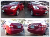 Photo 2009 Toyota Vios Manual Red Sedan