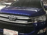 Photo 2016 Toyota Innova 2800E Diesel Automatic Blue