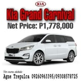 Photo Kia Grand Carnival for ZERO All-in Downpayment!...