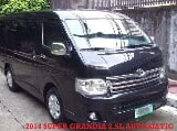 Photo Toyota Hiace AT 2014 Complete Service History...