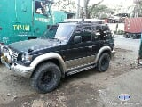 Photo Mitsubishi Pajero Manual 1998