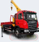 Photo Jac motor heavy truck for sale (sword crane)