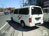Photo Nissan Urvan Escapade 2012