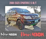 Photo 2008 Isuzu Sportivo 2.5 Manual