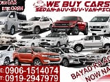 Photo We buy cars sedan auv suv van pick-up now na