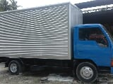 Photo 1991 Isuzu Canter Delivery Aluminum Closed Van...