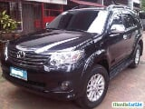 Photo Toyota Fortuner Automatic 2012