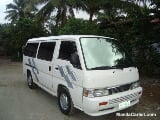 Photo Nissan Urvan Manual 2002