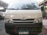 Photo 2010 toyota hiace for sale