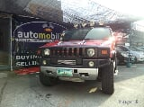 Photo 2004 Hummer H2 Auto Red SUV
