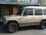 Photo Mitsubishi Pajero Manual 1989