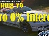 Photo Ford Mustang V6 AT 2013 with Zero 0% interest...