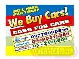 Photo We Buy Cars, Van, Pick-Up, AUV and SUV