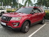 Photo Selling Red Ford Explorer 2017 Automatic Gasoline