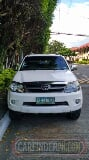 Photo 2008 Toyota Fortuner Diesel A/T Davao City