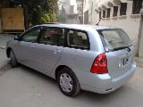 Photo Toyota fielder for sale in silver color Lahore...