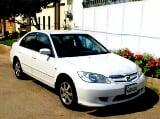 Photo Honda Civic 2005 white color for sale -...