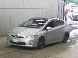 Photo Toyota prius 2010 solar roof silver color for...