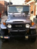 Photo Toyota jeep landcruiser fj40 1984 grey color...