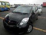 Photo Toyota Vitz 2008 black color for sale in...