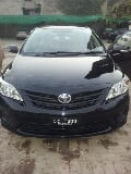 Photo Toyota Corolla XLI 2011 new lights Black colour...