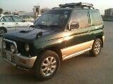 Photo Mini pajero model 95 green color for sale in...