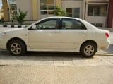 Photo Toyota corola 2004 colour white for sale in...