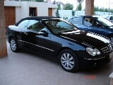 Photo Mercedes Benz CLK 200 2007 black color for sale...