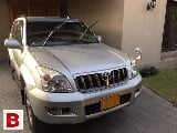 Photo Toyota Prado TZ 3.4 Model 2004 Reg 2008