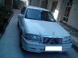 Photo Mercedes Benz C180 2003 white color for sale -...