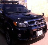 Photo Toyota hilux vigo model 2007 black for sale -...