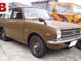 Photo Toyota old state car 1972