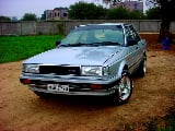 Photo Nissan Sunny AC&CNG 1986 blue color for sale -...