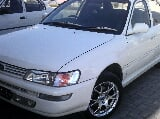 Photo Toyota Corolla best 2. OD white color 2001 for...